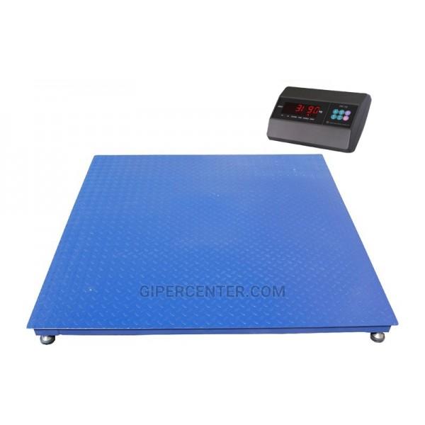 Весы платформенные TRIONYX П1212-СН-600 А6 до 600 кг, 1200х1200 мм