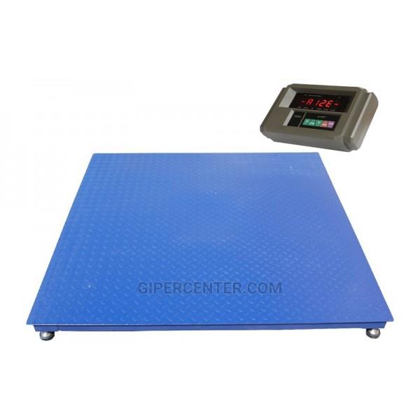 Весы платформенные TRIONYX П1515-СН-1500 А12EK3150 до 1500 кг, 1500х1500 мм