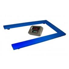 Весы паллетные TRIONYX П0812-ПЛ-600 А12EK3 до 600 кг, 800х1200 мм