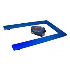 Весы паллетные TRIONYX П0812-ПЛ-3000 Keli xk3118t1 до 3000 кг, 800х1200 мм