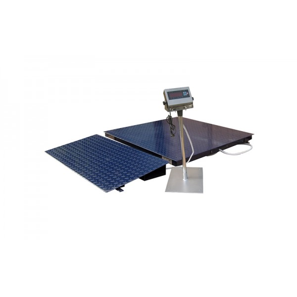 Пандус наездной для весов Зевс размерами 1500х600 (550) мм