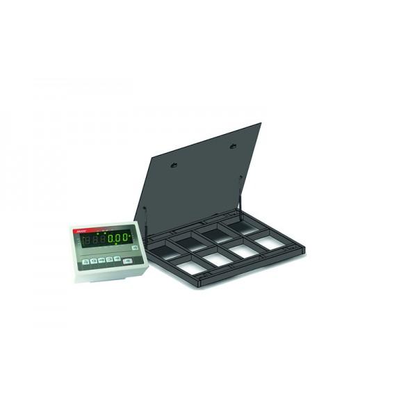 Весы платформенные с откидной платформой 4BDU1500-1215ВП-Э элит 1250х1500 мм (до 1500 кг)