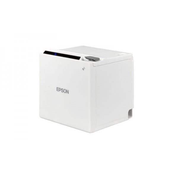 Принтер чеков Epson TM-m30 Ethernet+USB белый