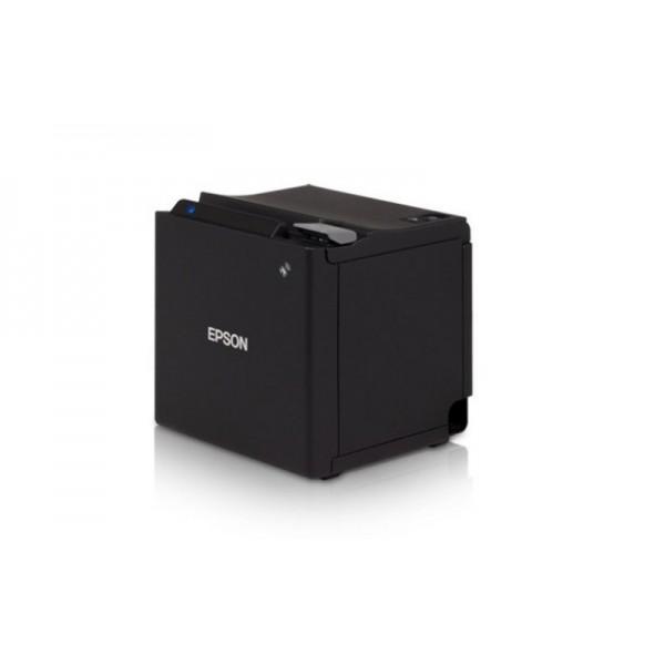 Принтер чеков Epson TM-m30 Ethernet+USB черный