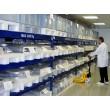 Пластиковый паллет гигиенический 1200х800х150 мм (02.110F.10.Q.PE.S) белый