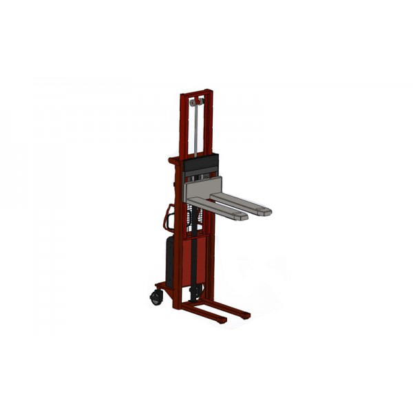 Штабелер полуэлектрический с весами AXIS 4BDU1500ШН бюджет до 1500 кг