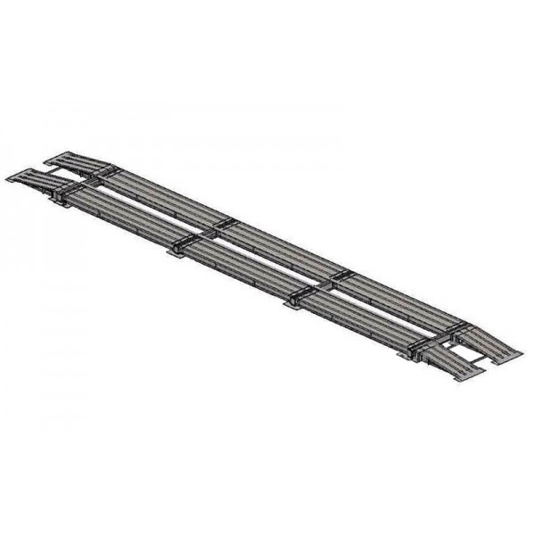 Весы автомобильные безфундаментные Axis 80-20 К (10 датчиков) до 80 тонн, премиум