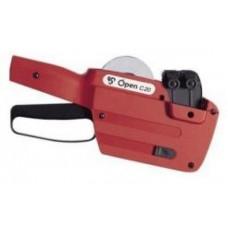 Набор: этикет-пистолет Open Data Open C20, 1 валик и 4 рулона