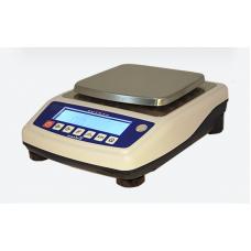 Лабораторные весы СВА-1500-0,2, до 1500 г, точность 0,02 г (прямоугольная платформа)