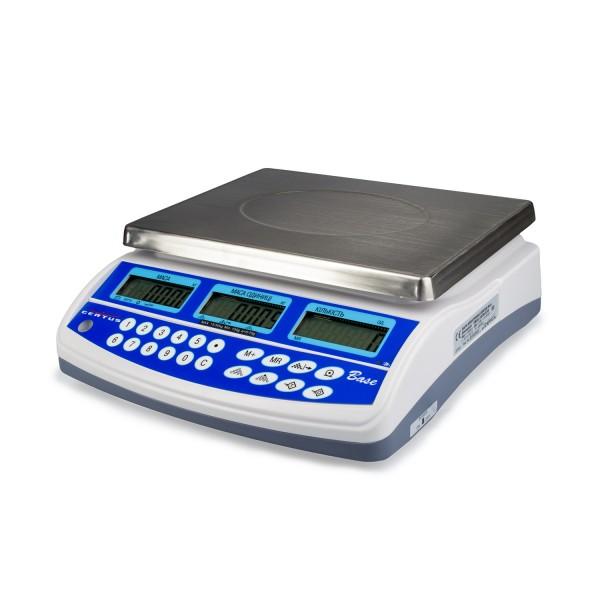 Весы счетные Certus Base СВСо-30-1 до 30 кг, дискретность 1 г