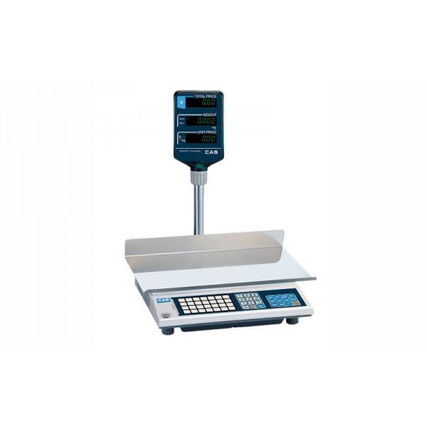 Весы торговые CAS AP-6EX LT до 6 кг; со стойкой