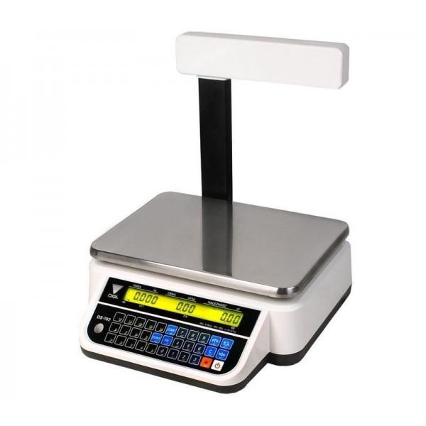 Весы торговые Digi DS-782P 6/15 кг 2/5 г
