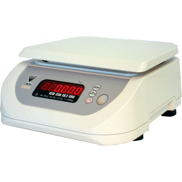 Весы торговые Digi DS-673S до 1,5 кг, один индикатор