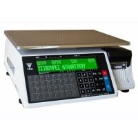 Весы торговые Digi  SM 100CS B Plus  Ethernet до 6 кг; с чекопечатью