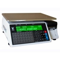 Весы торговые Digi  SM 100CS B Plus  Ethernet до 30 кг; с чекопечатью