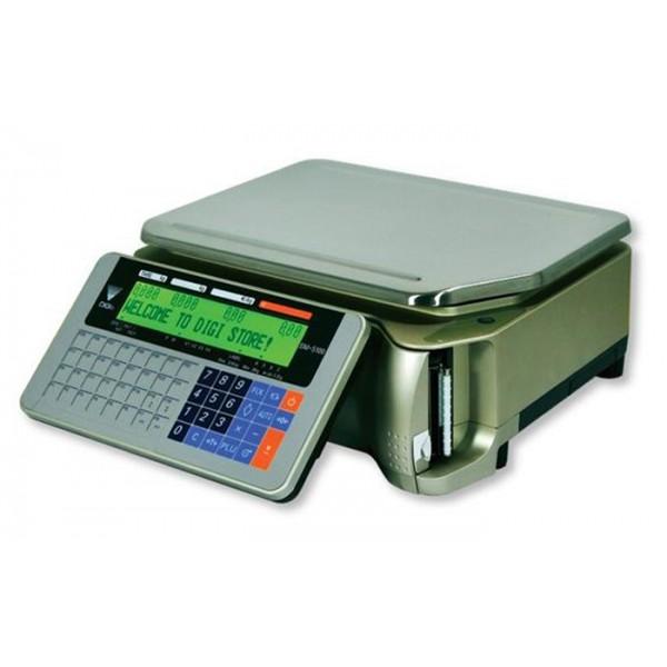 Весы торговые Digi SM-5100B Ethernet до 30 кг, с печатью этикетки