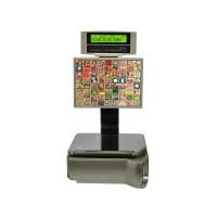 Весы торговые Digi SM-5100 BS 72 клавиши Ethernet до 6 кг, с печатью этикетки