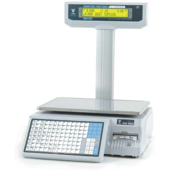 Весы торговые Digi SM500 МК4 P Ethernet до 30 кг, с печатью этикетки