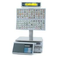 Весы торговые Digi SM500 МК4 BS 120 клавиш Ethernet до 15 кг, с печатью этикетки