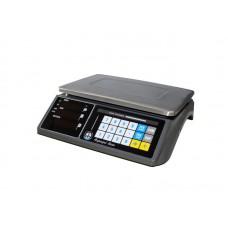 Весы торговые VAGAR(Вагар) VP-N-15 LED RS-232 без стойки, до 15 кг, дискретность 2/5 г, 325 х 230 мм