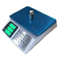 Весы торговые ПРОК-ВТ-822-В до 40 кг, дискретность 2 г, 240х330 мм