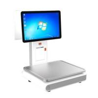 Весы самообслуживания Rongta Aurora Y1 - PC-based до 6/15 кг с двумя 14,1' дисплеями на стойке, с печатью чеков