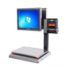 Весы самообслуживания Rongta Aurora S1L - PC-based до 6/15 кг с 15 'дисплеем на стойке, с печатью чеков