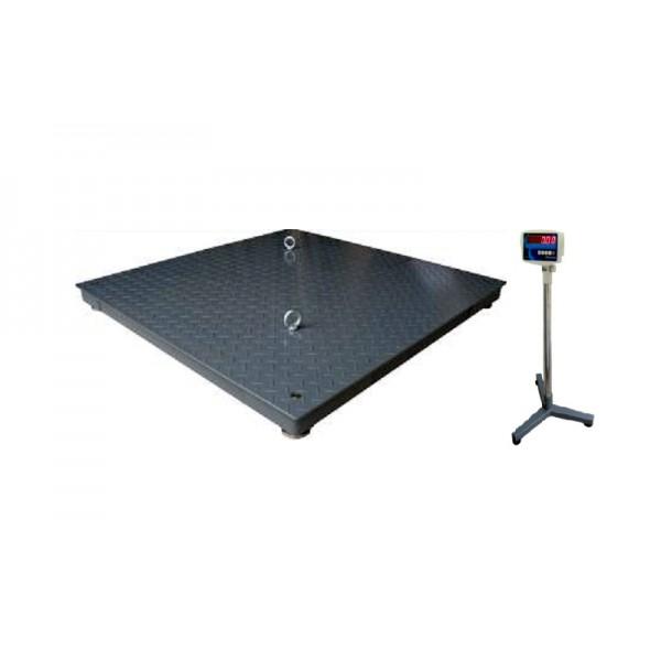 Платформенные электронные весы, усиленные CHK Hercules 1000х1000мм, НПВ: 1000кг