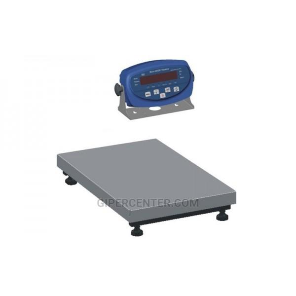 Весы товарные для торговли BDU300-0808 бюджет 800х800 мм (без стойки)
