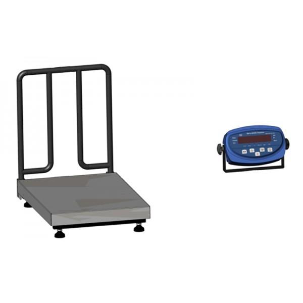 Платформенные весы с ограждением для взвешивания мешков BDU300-0405 М бюджет 400х566 мм (без стойки)