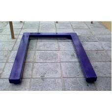 Паллетные весы под гидравлическую тележку  УВК-ПЛ (1200x800мм) НПВ: 300кг
