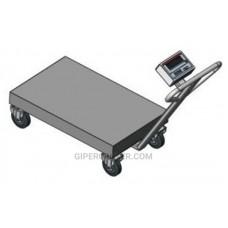 Весы-тележка Axis BDU150-0508 В-В Бюджет (150 кг, 500х800 мм)