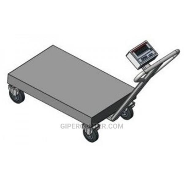Весы-тележка Axis BDU300-0508 В-В Бюджет (300 кг, 500х800 мм)