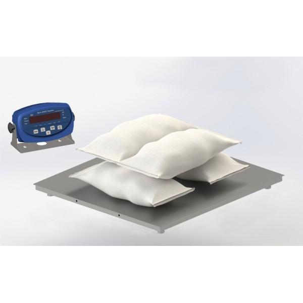 Платформенные низкопрофильные весы 4BDU300-1012 бюджет 1000х1250 мм (до 300 кг)