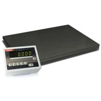 Весы платформенные с 4 тензодатчиками 4BDU300-1012 практичные 1000х1250 мм (до 300 кг)