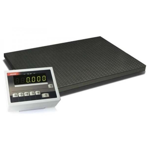 Весы платформенные на 4 тензодатчиках 4BDU300-1212 практичные 1250х1250 мм (до 300 кг)