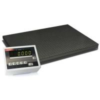 Электронные платформенные четырехдатчиковые весы 4BDU600-1010 стандарт 1000х1000 мм (до 600 кг)