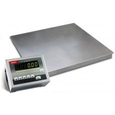 Электронные платформенные весы для склада 4BDU600-1010 элит 1000х1000 мм (до 600 кг)