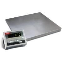 Низкопрофильные весы с 4-мя датчиками для взвешивания грузов до 1500 кг 4BDU1500-1515 элит 1500х1500 мм
