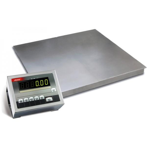 Низкопрофильные весы с 4-мя датчиками до 3000 кг 4BDU3000-1515 элит 1500х1500 мм