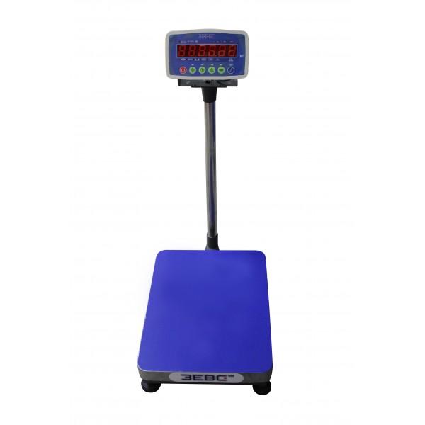 Весы товарные ЗЕВС А12Е до 150 кг, 400х500 мм