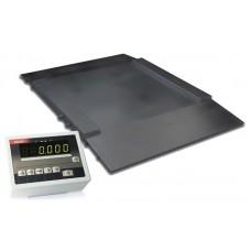 Наездные платформенные весы до 300 кг 4BDU300H ПРАКТИЧНЫЕ 1250х1250 мм