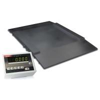 Платформенные наездные весы с пределом взвешивания до 600 кг 4BDU600H ПРАКТИЧНЫЕ 1000х1250 мм
