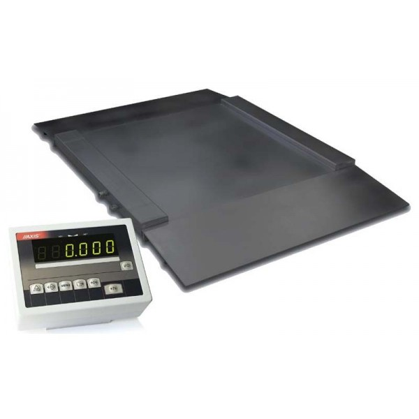 Платформенные наездные весы (с пандусами) 1500х1500 мм до 3000 кг 4BDU3000H ПРАКТИЧНЫЕ