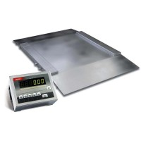 Весы наездные нержавеющие 4BDU600H (600 кг, 1000х1250 мм)