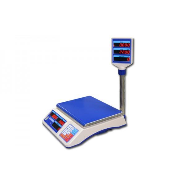 Торговые электронные весы со стойкой ВТНЕ/1-6Т2 до 6 кг, точность 2 г