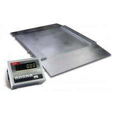 Пандусные весы для склада до 2000 кг 4BDU2000H ЭЛИТ 1500х1500 мм
