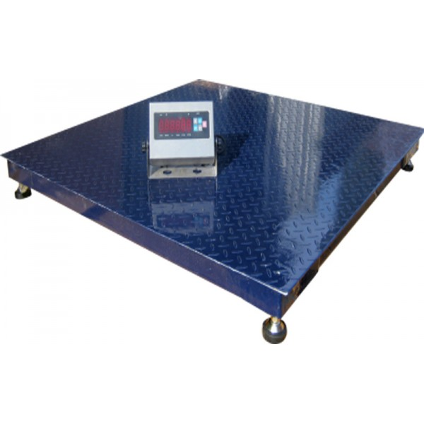 Весы платформенные ЗЕВС Премиум ВПЕ-4-1515 НПВ=5000 кг