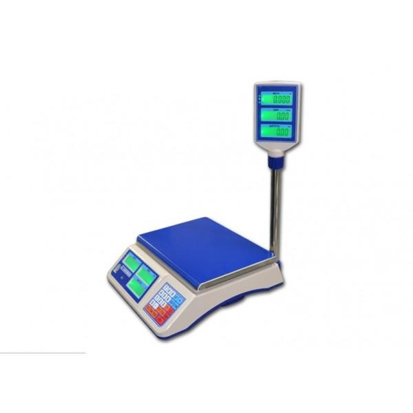 Торговые электронные весы со стойкой ВТНЕ/1-6Т2К до 6 кг, точность 2 г