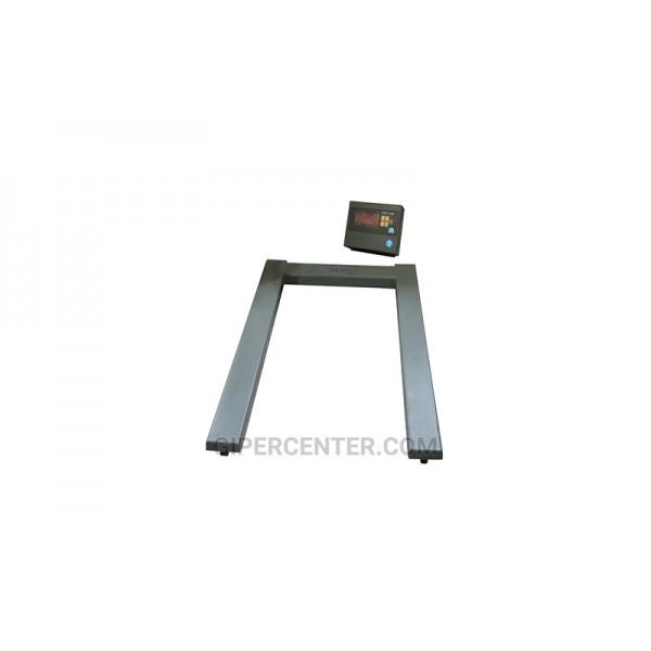 Паллетные электронные весы ЗЕВС (А12Е) ВПЕ-4 Стандарт (1200х800мм) НПВ: 500 кг